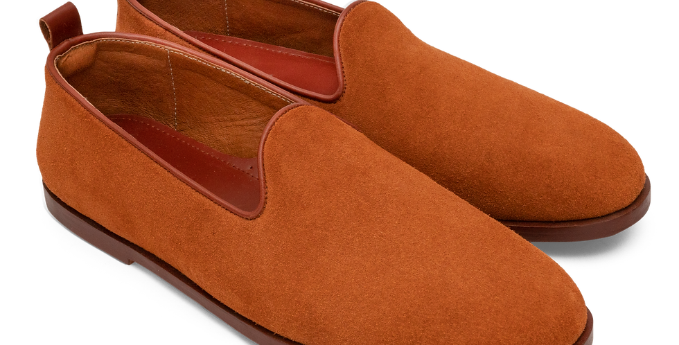 Plain Toe Slip On - Raw Sienna (Women's)