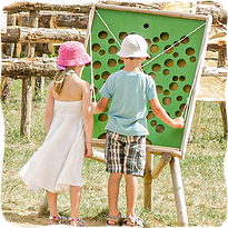Jeux du labyrinthe végétal de Romagne - Tourisme