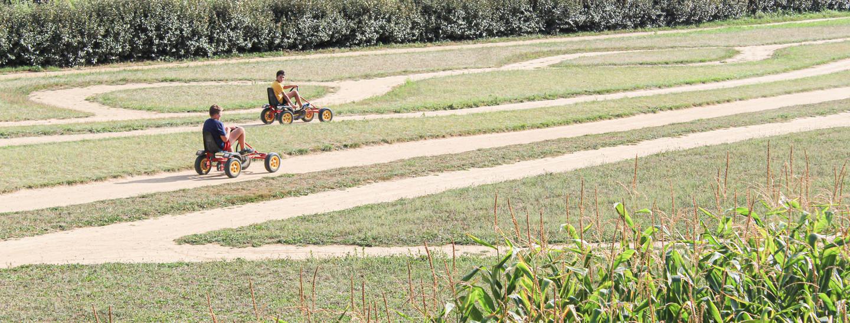 Laby Kart - Karting à pédales à Romagne - Tourisme en Vienne