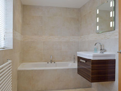 Separate Tub and Shower Area