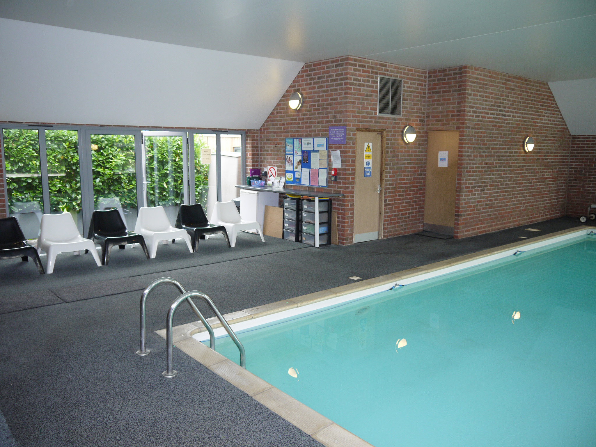 Swimming Pool and Viewing Area