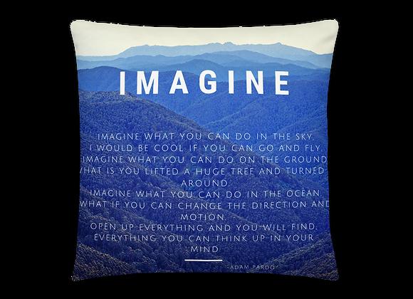 """Imagine"" Pillow"