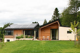 Woolgatherers - new-build eco home