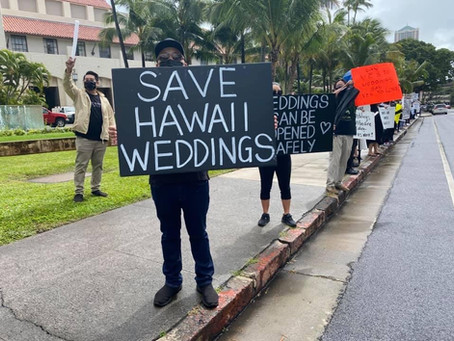 Saving Hawaii Weddings
