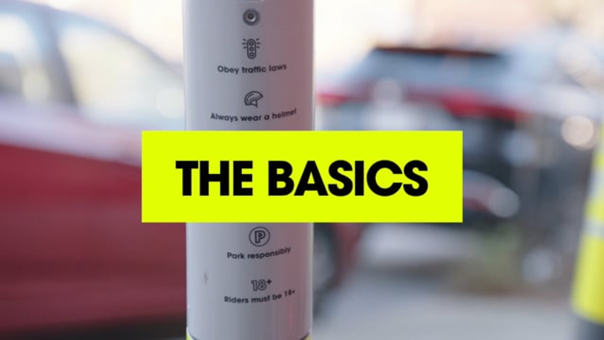"LINK Scooters: ""The Basics"""