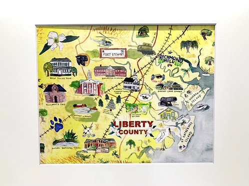 Liberty County print 8x10