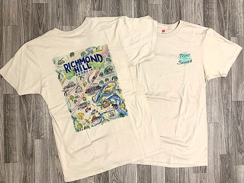 T-shirt Richmond Hill Watercolor (sand)