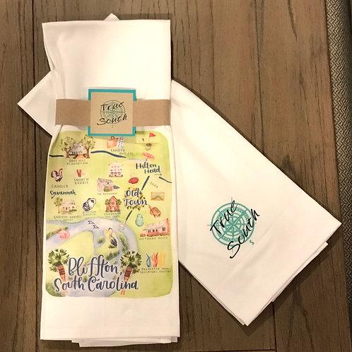 Tea Towel-Bluffton, SC