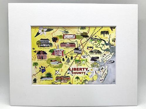 Liberty County print 5x7