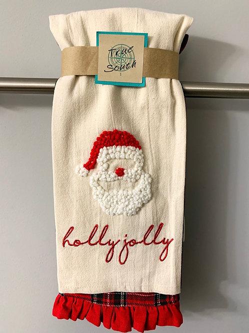 Tea Towel Set Holly Jolly