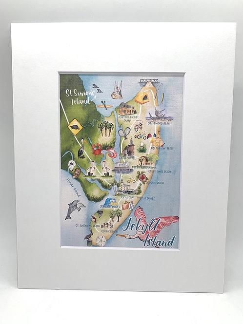 Jekyll Island, GA print 8x10
