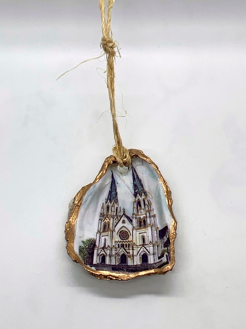 St. Johns Cathedral Oyster Ornament