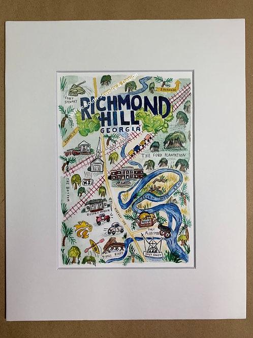 Richmond Hill Print 5x7