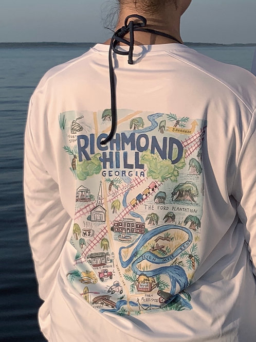 UV shirt long sleeve Richmond Hill map