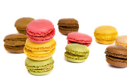 Macaroons which indicate a food item high in sugar