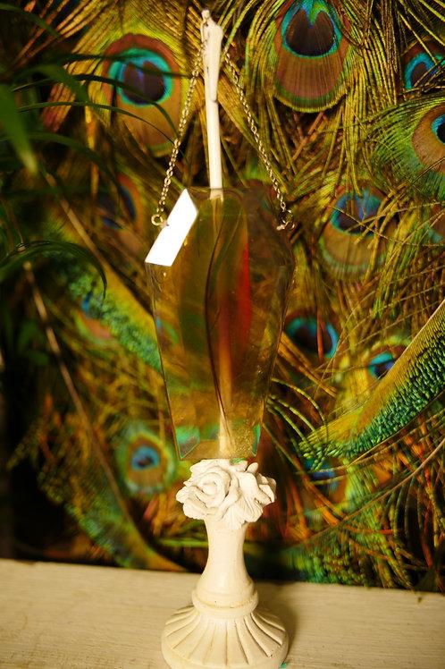 Feather Coffin Wall Hanger/Sun Catcher
