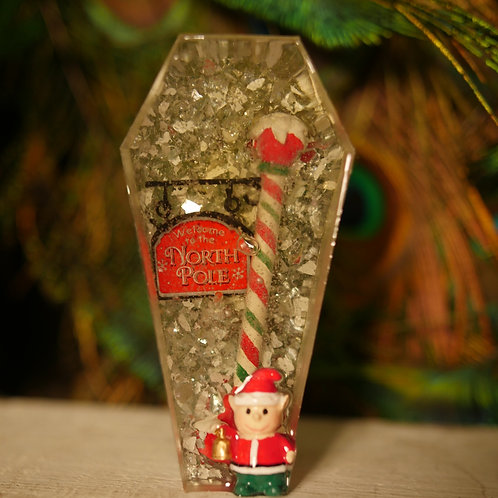 Christmas Elf Coffin