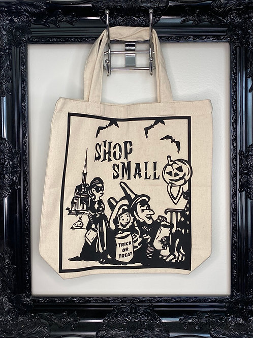 Vintage Inspired Trick or Treat Tote Bags