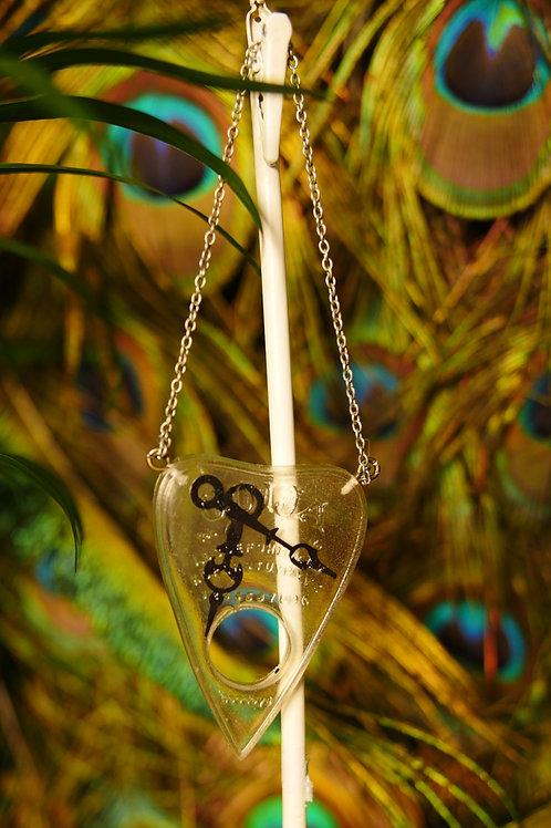 Clock Hand Planchette  Wall Hanger/Sun Catcher