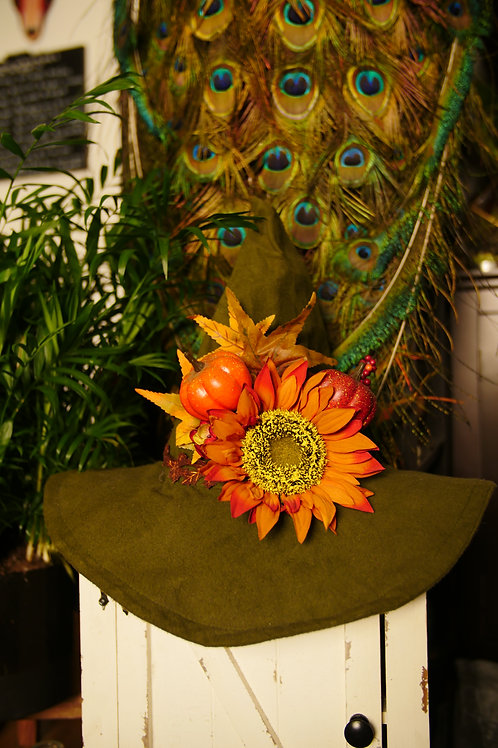 Handmade Autum Witch Hat