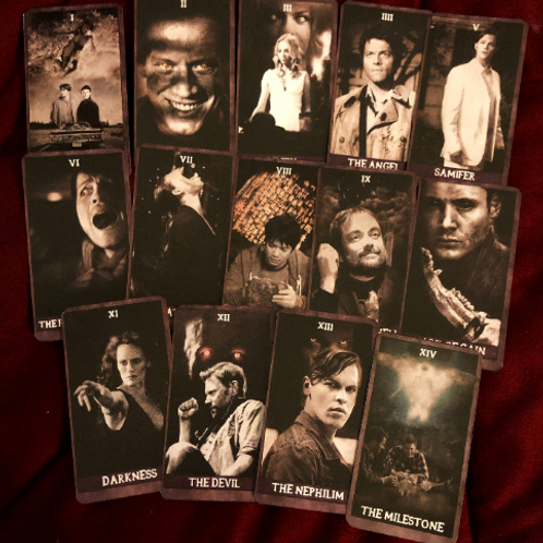 Supernatural Tarot Cards