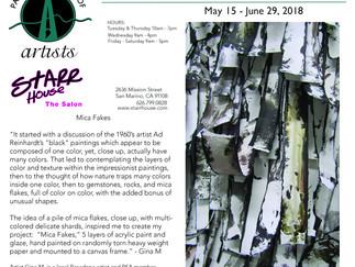 Mika Fakes opening May 15th