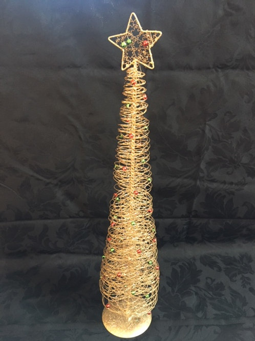 Decorative Wire Christmas Tree