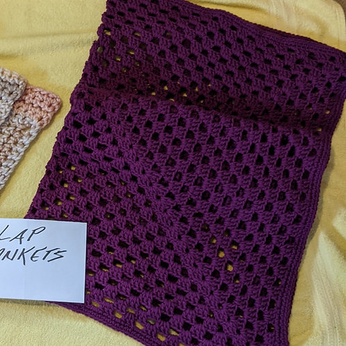 Lap Blanket-Purple