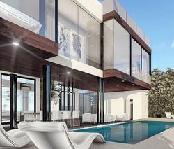 Addition to Residence in Miami Beach #miamibeach #florida #architecture #contemporaryhouse #modernar