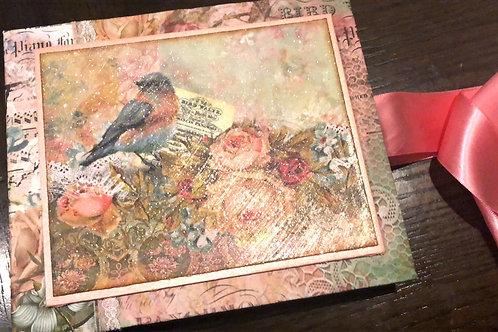 Blue Fern Bird Waltz Mini Album Kit