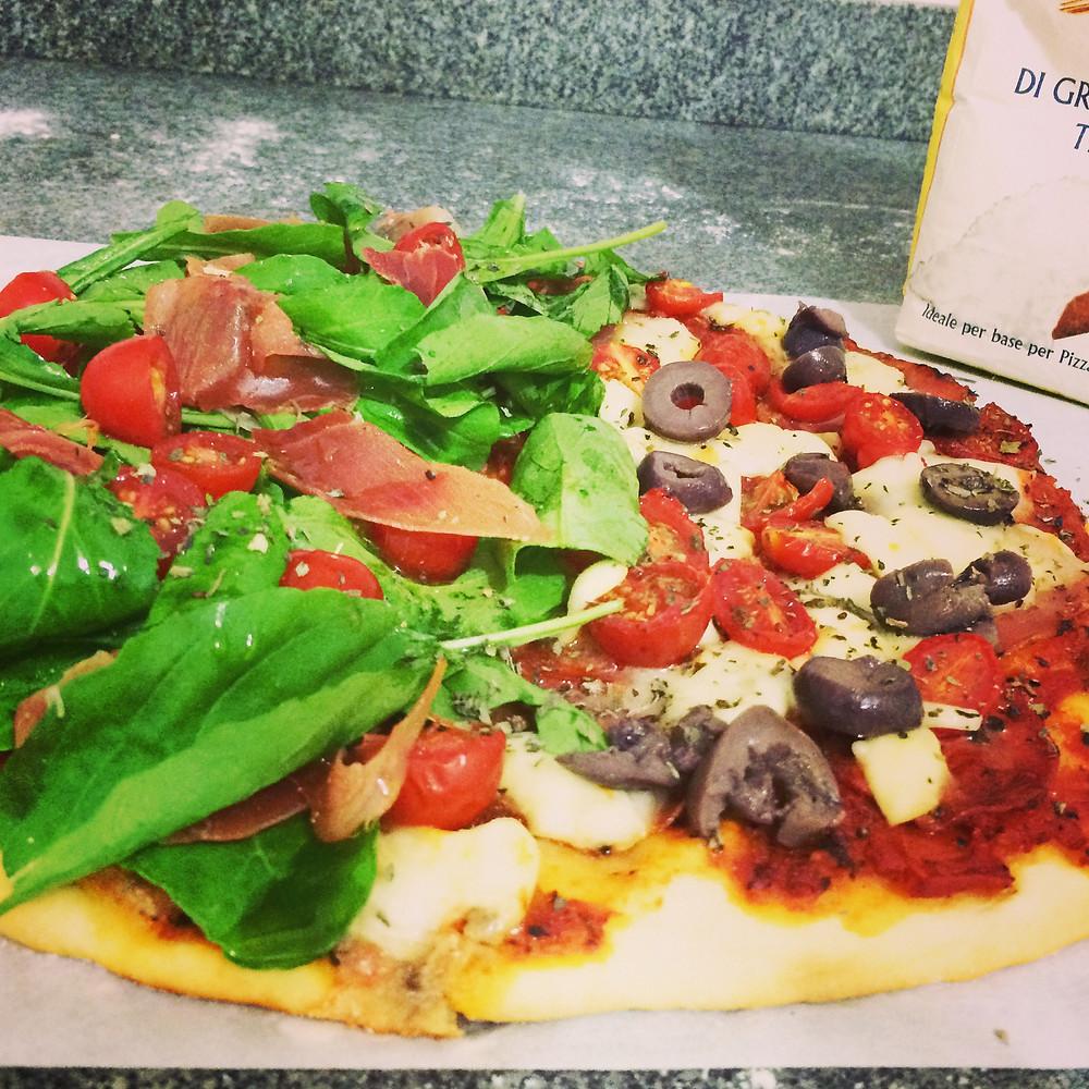 Pizza expressa, Blog de Comida Abuela Juana