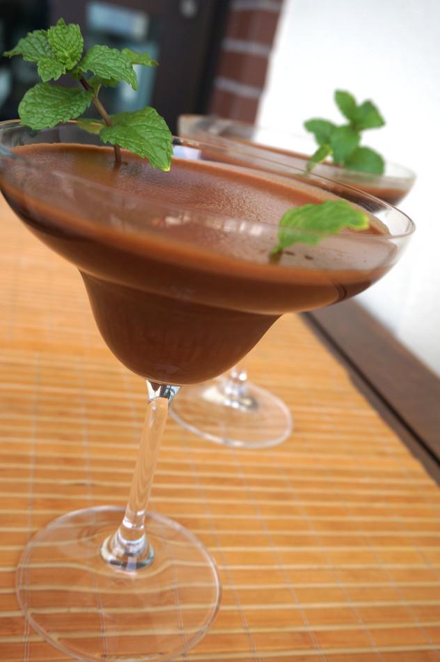 MOUSSE DE CHOCOLATE E CAFÉ ESPRESSO (sem ovos)