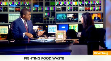 Kavita Shukla discussing Fenugreen FreshPaper on Bloomberg Primetime
