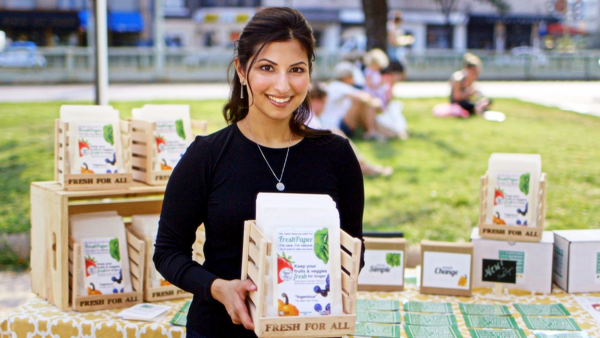 Kavita at Dupont Farmers Market