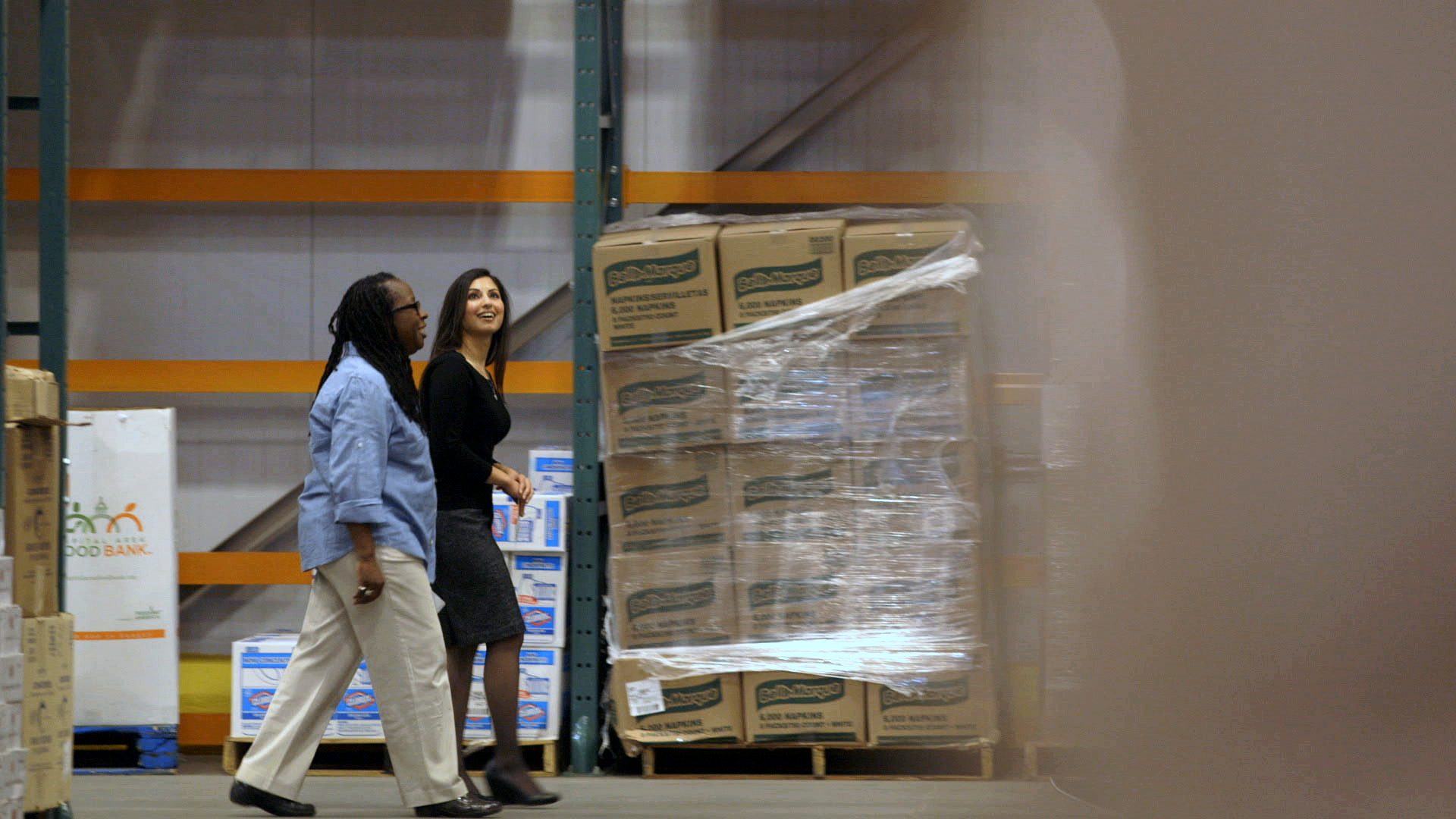 Kavita Shukla at DC Food Bank