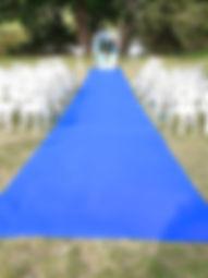 Union et Émotions - Cérémonie Laïque - Materiel et location Tapis allée de cérémonie