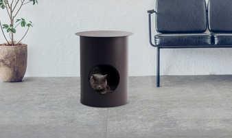Pet House Table / Mocha