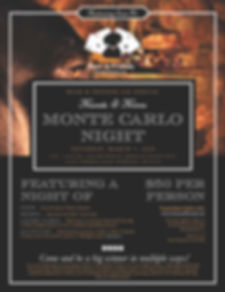 2020 Hounds & Heroes Monte Carlo Night F