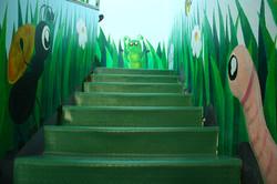 Le scale d'ingresso