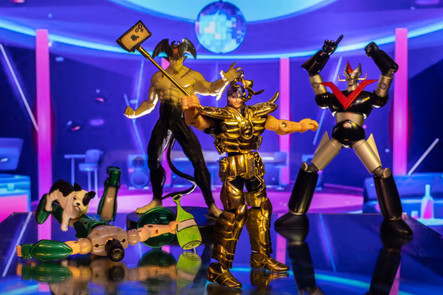 Heroes on the dance floor