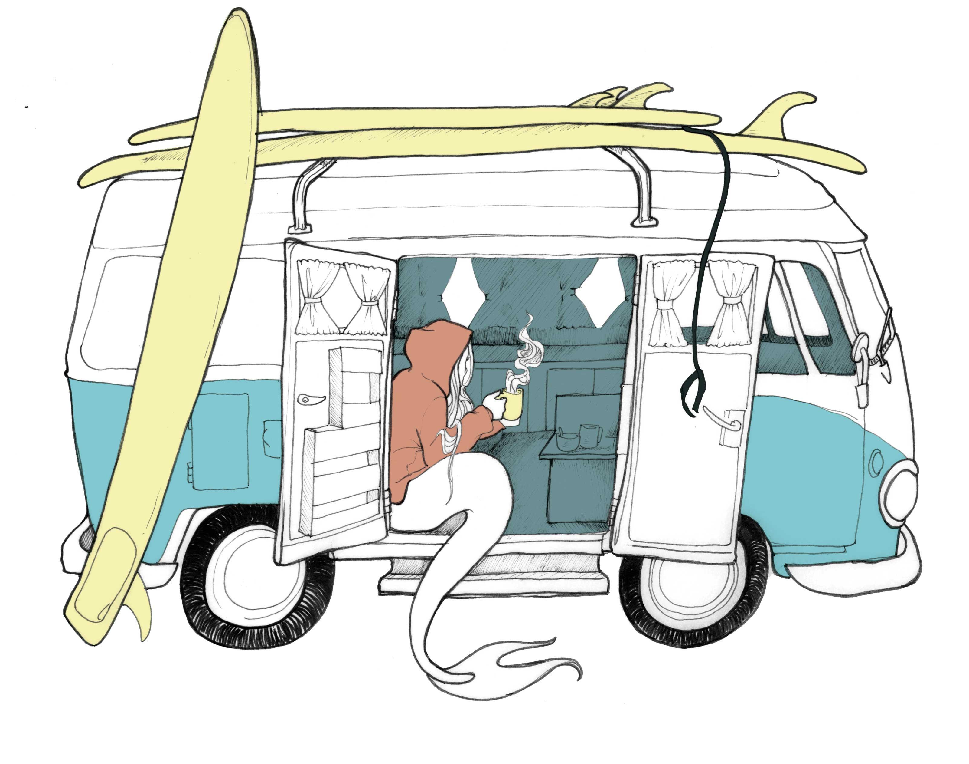 Spring Campaign Van