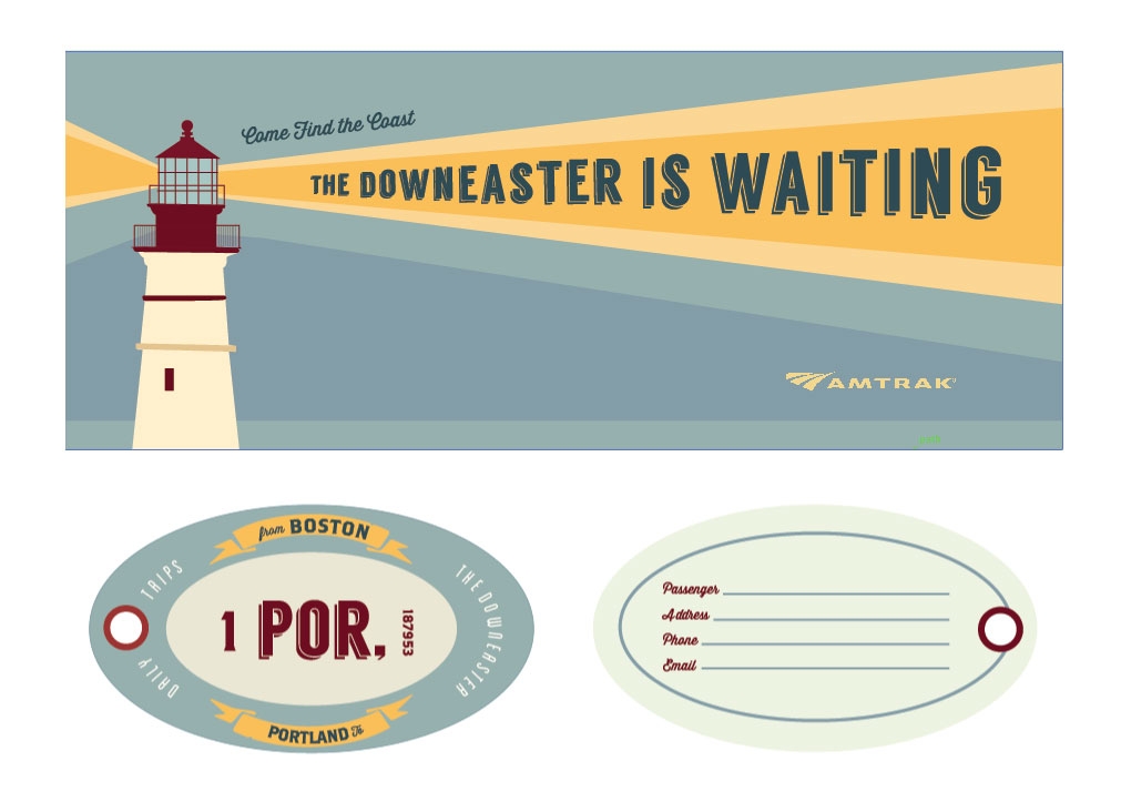 The Downeaster: Amtrack Re-Design