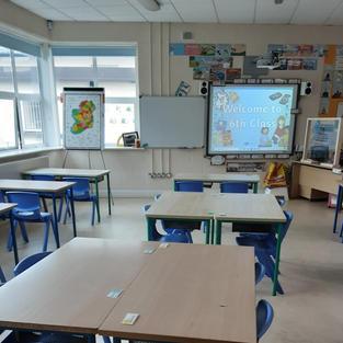 6th class room.