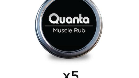 5 HEMP MUSCLE RUBS (1 OZ) VALUE PACK