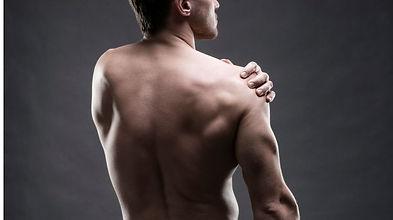 Man back view
