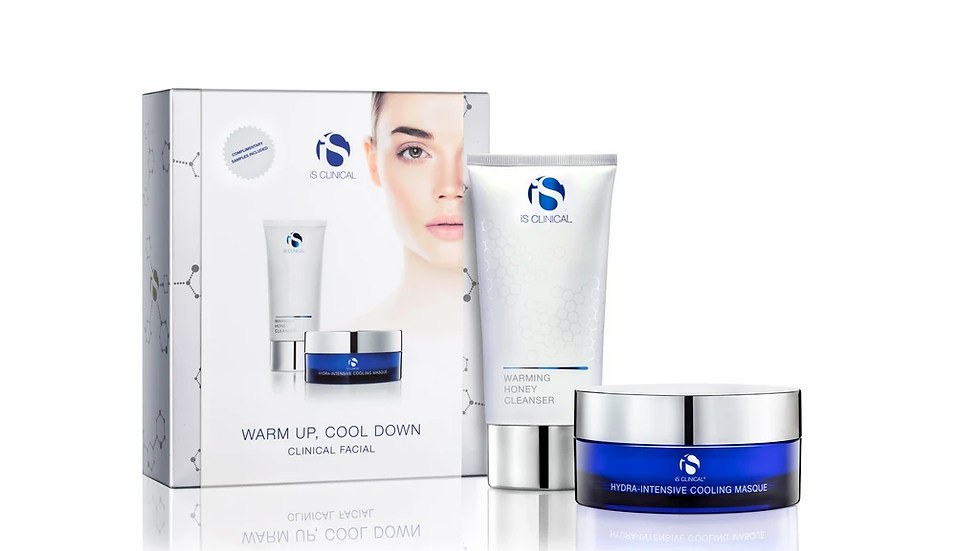 WARM UP, COOL DOWN CLINICAL FACIAL