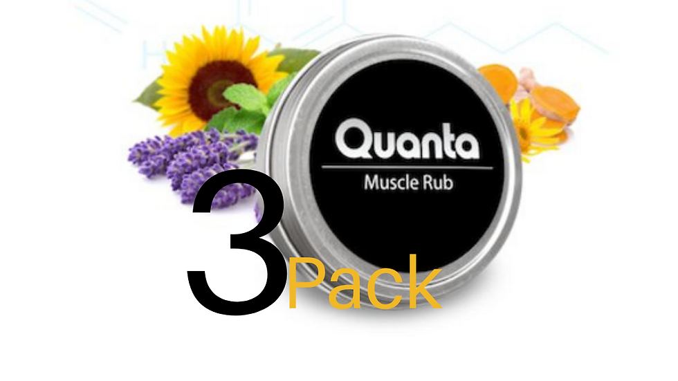 Quanta Muscle Rub Value Pack of 3