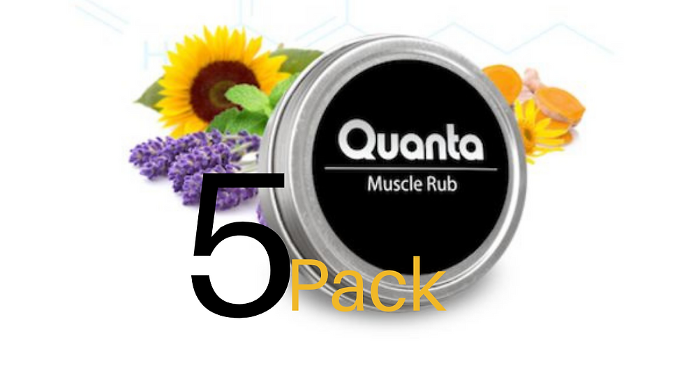 Quanta Muscle Rub Value Pack of 5