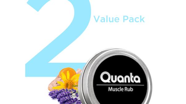 2 CBD MUSCLE RUBS (1 OZ) VALUE PACK
