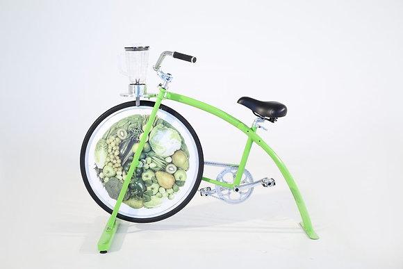 Location vélo à smoothie
